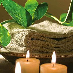 Spa Treatment, Candle, Relaxation, Towel, Beauty Treatment