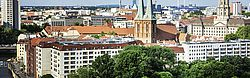 Potsdam - Brandenburg, Sanssouci Palace, Panoramic, Architecture, Europe