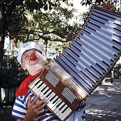 Street Performer, Clown, French Culture, Buenos Aires, Street