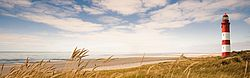 Lighthouse, Sand Dune, Sea, Panoramic, Beach